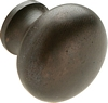 Knob Diameter: 38 mm;<BR>Natural iron