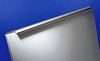 Profile handle, various lengths, matt aluminium