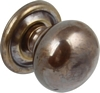 Knobs with backplate