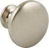 Knob,  30 mm Brushed Nickel 30x24mm