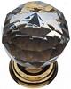 Crystal knobs, 35mm diameter