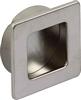 Inset handle,  39 x 39 mm
