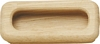 Inset handle,  94 x 35 mm Oak