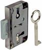 Lever rim lock, for lever bit keys, 15 or 30 mm backset