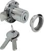 Minilock 40 rim lock, 22 mm Kaba 8 cylinder, 20 mm backset, random key changes