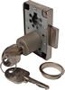 Rim lock; 22 mm cylinder; 20-40 mm backset; random key changes; left hand