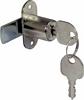 Cylinder cam lock, without key trap, 18 mm cylinder, anti-clockwise closure, random key chang