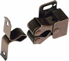 Twin roller catch, spring loaded Bronze