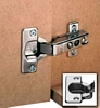 Essentials standard 110d hinge, 35 mm cup, screw fixing, slide on arms, sprung