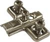 Keyhole cruciform mounting plate