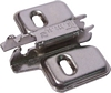 Cruciform mounting plate, for click on system