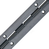 Continuous hinge, 32-51 mm open width, stainless steel