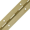 Continuous hinge, 38/51 mm open width, brass