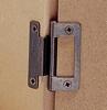 Cranked flush hinge, for 15-19 mm door thickness, light duty