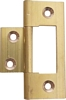 Flush hinge, straight 290, 64 x 19 mm, for inset doors