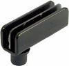 110 Degree Simplex glass door hinge, for flush-fitting doors