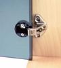 92 degree adjustable glass door hinge, for inset doors