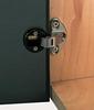 92 degree glass door hinge, for overlay doors