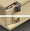 Slido Classic 12 IF C complete set, for 2 doors, without soft close set