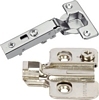 Metalla SM Concealed 105º hinge, 35 mm cup, screw fixing, SM Quick fixing arms, with sof