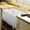 Rangemaster Farmhouse Belfast CFBL595WH single bowl sink