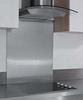 Steel splashback panel, 7 mm thick