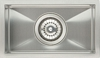 Stainless steel undermount single bowl, 192 x 330 mm