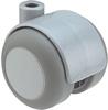 Twin wheel castor, 50 mm
