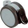 Twin wheel castor,  65 mm