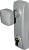 Outside access device with knob and Euro profile cylinder