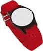 Dialock key with wristband