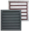 Intumescent fire block & grille kit