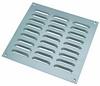 Ventilation grille, 229 x 229 mm, louvre type