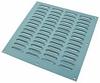 Ventilation grille, 305 x 305 mm, louvre type