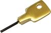 Casement fastener key