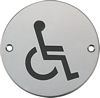 Disabled WC graphic sign