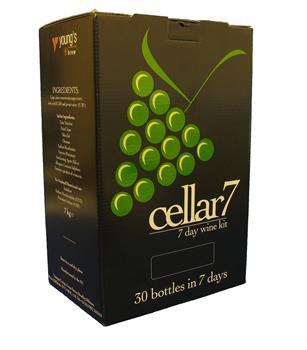 Cellar 7 Pinot Grigio White Wine Kit.