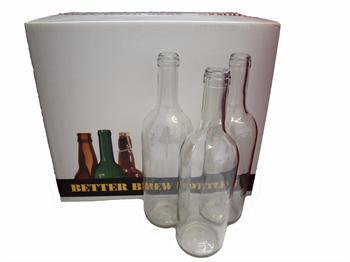Clear Wine Bottles - 75cl