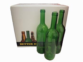 Green Wine Bottles - 75cl