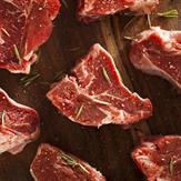 Lamb loin chops on the bone