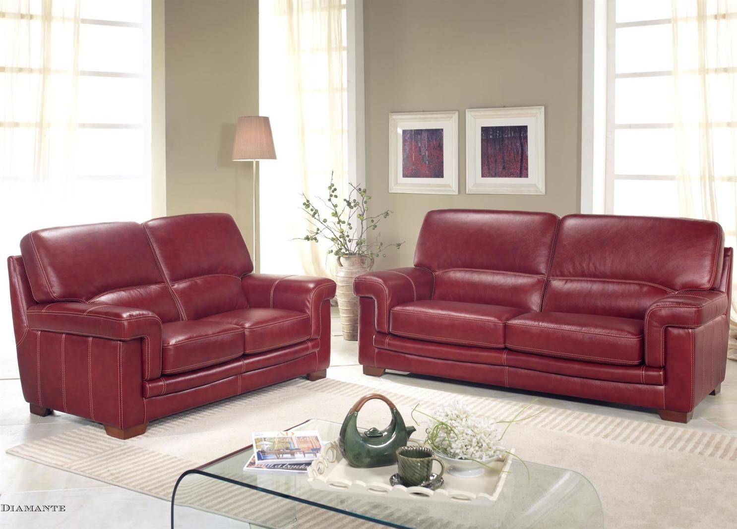 Leather Furniture Traveler Collection: Bardi Diamante Leather Sofa Collection From Tannahill