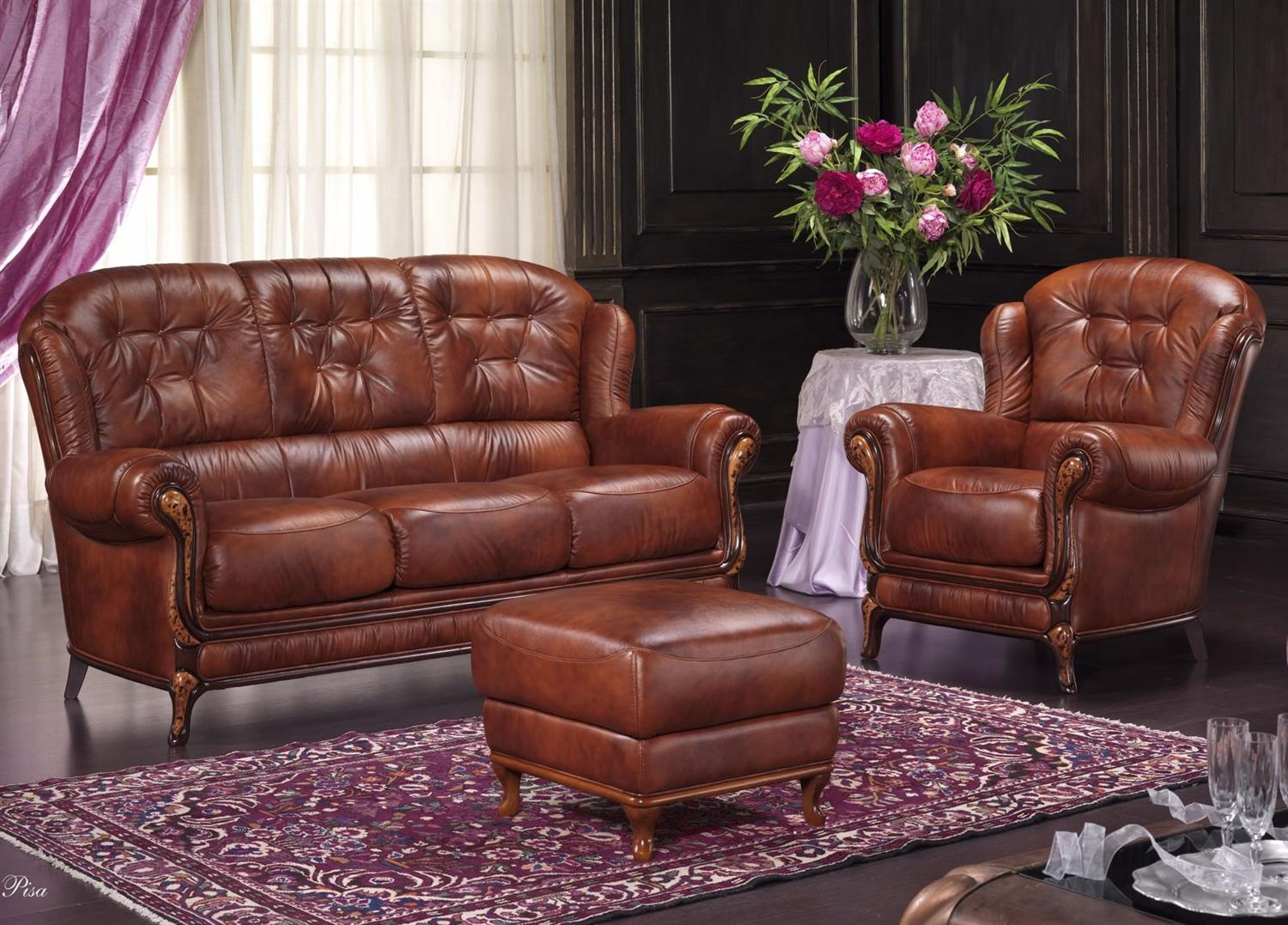 Bardi Pisa Leather Sofa Collection From Tannahill