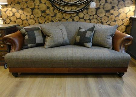 Tetrad Harris Tweed Taransay Sofa Collection   Bracken
