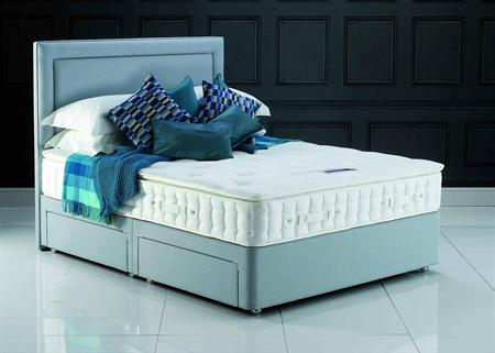 Hypnos Beds Pillow Comfort Wool Divan set