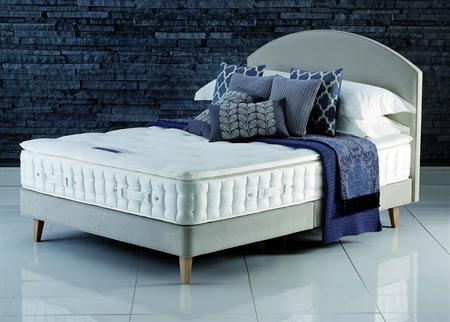 Hypnos Beds Pillow Comfort Silk Divan set