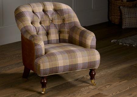 Harrington Low Back Chair - Huntingtower Grape