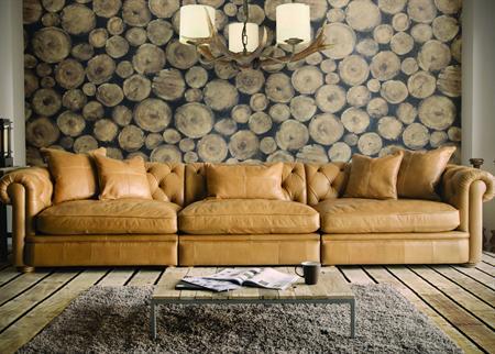 Alexander & James Abraham Leather Sofa Collection