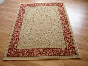 Ziegler Rugs 7766/Cream/Red