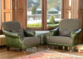 Tetrad Harris Tweed Taransay sofa Collection - Dogtooth