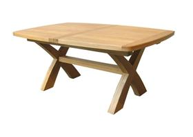 Camargue X Leg Dining Table